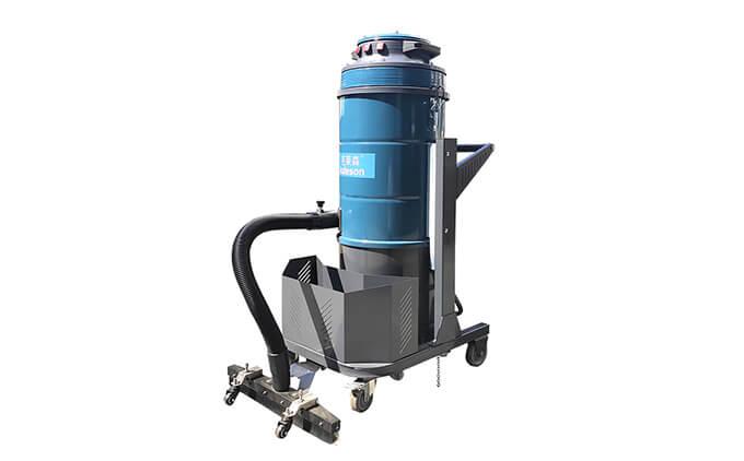 大面积地面用推吸式工业吸尘器