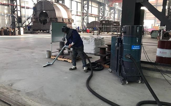 克莱森HY-410打磨配套工业吸尘设备